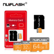 64GB  SD Card with Adapter, U1 C10 Class 10, Full HD available,SDXC UHS-I Memory Card