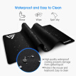 VictSing PC123 30% Larger Extended Gaming Mouse Pad XXL Desk Pad Keyboard Mat with Non-Slip Base for Office, Home