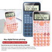 Study Scientific Calculator Two Line Display Student 12 Digits Handheld Portable