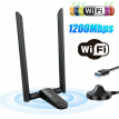 1200M Wireless Network Card Dual Frequency Gigabit WiFi Receiver Free Driver & USB3.0