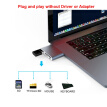 USB Hub 3.0 Portable Dual Port SD/Micro SD Card Reader For MacBook Pro Samsung Huawei