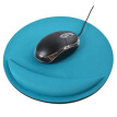Mouse Pad With Wrist Rest Round Soft Desk Computer Gaming Mice Protective Padding Mat For Office