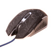 Wrangler 6-Button Backlit USB Wired Mouse