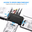 Smart ACC USB 3.0 to SATA/IDE Converter Multifunctional USB 3.0 to SATA/IDE Converter for 2.5/3.5 inch Hard Drive Disk