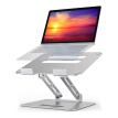 Laptop Stand Desk, Ergonomic Aluminum Computer Stand Adjustable with Heat-Vent Compatible with MacBook Air Pro Dell Samsung