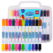 Deli 24 Colors Set Stamp Water Marker Pens (non-toxic, washable)
