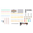 DIY Electronics Component Starter Kit Breadboard Set with Plastic Box