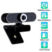 Webcam 12MP Built-in Microphone USB Plug And Play Live Course Conference Camera