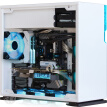 Ying Guang (IN WIN) 101 white computer main box (supports ATX motherboard / 240 water cooling row / glass side transparent / back line / USB3.0 * 2)