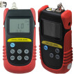 Optical Power Meter(-70dB to +6dB), fiber optic power meter + 850nm,1300nm Wavelength Optical Laser Source