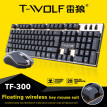 Wireless Keyboard and Mouse Combo, Mechanical Feeling Gaming Keyboard and Mouse Kit for Working Game