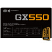 CoolerMaster rated 550W GX550 gaming desktop power supply (80PLUS bronze / SRC + DC2DC architecture / all-Japanese capacitors / five-year warranty)