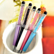 Elegance 2 in 1 Capacitive Pen Slim Diamond Crystal Stylus Touch Screen Pen Stylus For iPhone Tablet 5pcs/lot