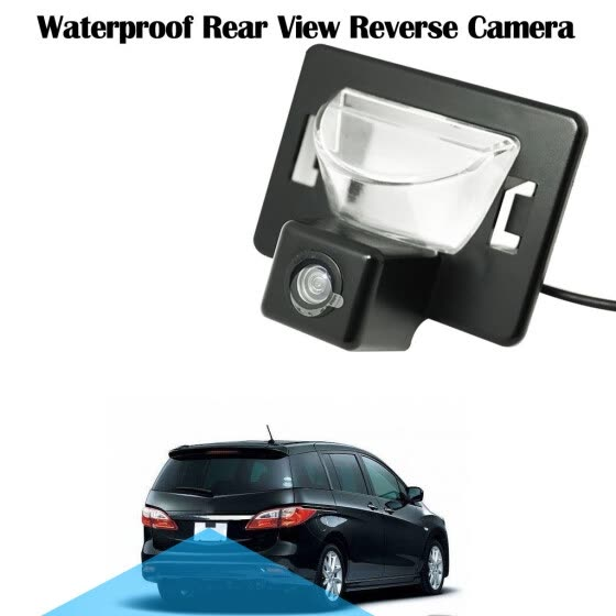 Back Up Camera For Mazda 5/Ford I-MAX  Waterproof Rear View Reverse Camera