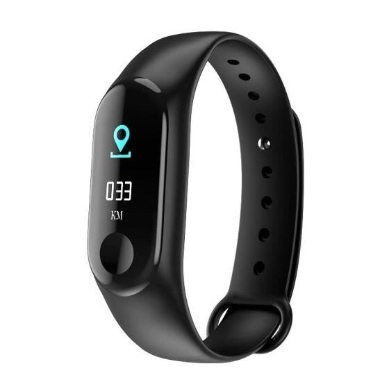 Smart Bracelet Information Push Heart Rate Pedometer Heart Rate Monitor Fitness Equipment Digital Watch