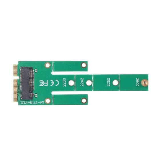MSATA to NGFF Adapter Card Motherboard SATA to M.2 NGFF MSSD Converter Support 2230/2242/2260/2280