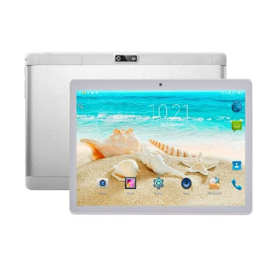 Y13 10.1inch Quad-core Tablet Android 4.4 Business Tablet with IPS Touch Screen 1280*800 Resolution 1GB+16GB Silver US Plug
