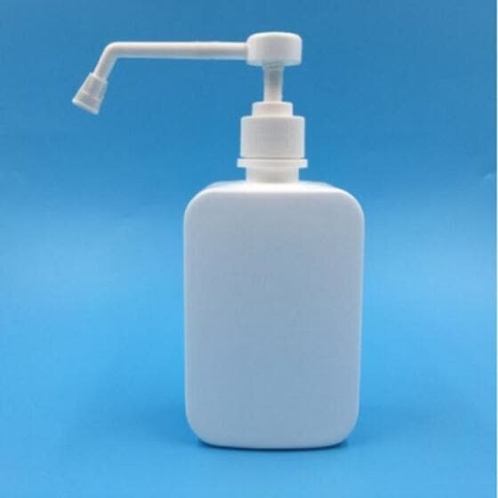 Sprinkling Bottle Spray Mist Cleaning Tool Wash Hands Alcohol Disinfectant Plastic White Sprayer