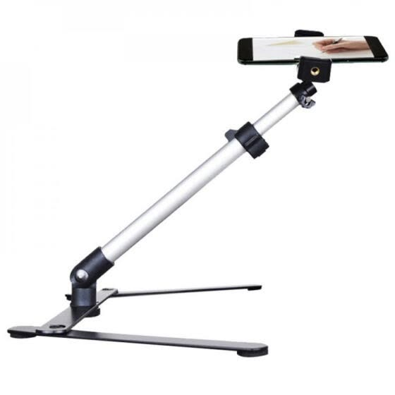 Universal Mobile Phone Live Support Desktop Overhead Shooting Video Recording Photography Video Shelf Holder