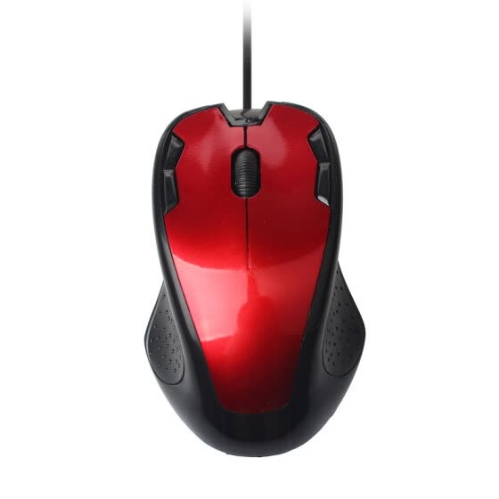 Luxury 1800 DPI USB Wired Optical Gaming Mice Mouse For PC Laptop Red
