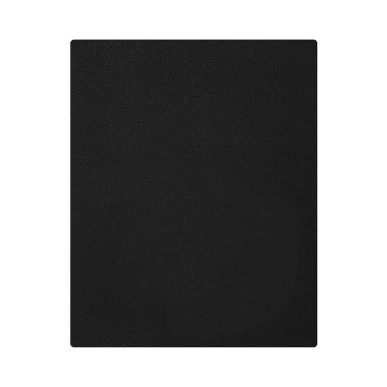 Anti-slip Mouse Pad High Grade Artificial Leather Computer Mouse Mat Solid Color Washable Double-sided Use Mousepad