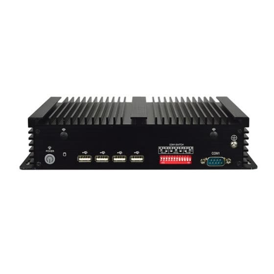 15 inch  embedded fanless mini industrial  pc 12v  all in one pc with Linux