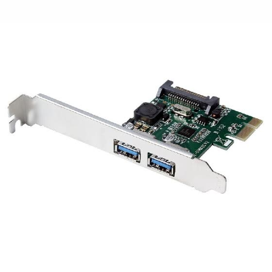 PCI-E to USB3.0 Dual Ports Expansion Card PCI Express Adapter NEC720202 Main Control Chip For Desktop PC