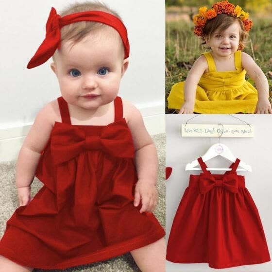 Shop Toddler Infant Kids Baby Girls Dress Straps Summer Princess Party Wedding Tutu Dresses Online From Best Dresses On Jd Com Global Site Joybuy Com