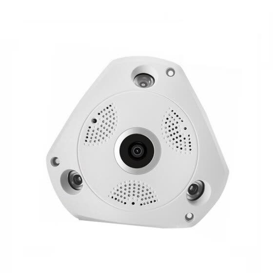 Dome HD 1080P 360 degree VR panoramic WIFI network camera Indoor H.264 fisheye lens CCTV YC-D-03