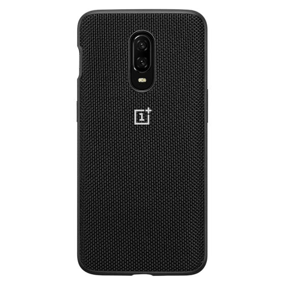 One plus mobile phone 6T nylon all-inclusive protective case (black)