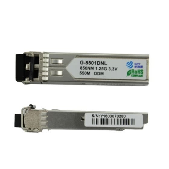 GRT G-8501DNL Compatible Cisco 3750 GLC-SX-MMD 850nm 550m LC 1Gb SFP Module