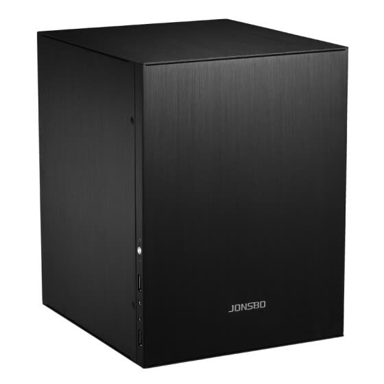 JONSBO C2 black MINI chassis (supports 24.5*21.5CM size motherboard / all aluminum chassis / ATX power / 80MM high internal radiator)
