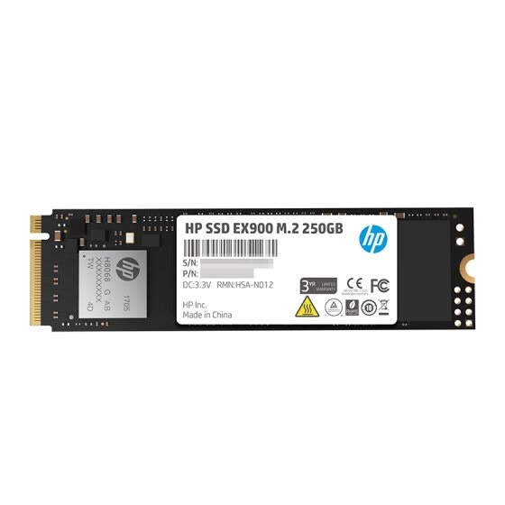 HP EX900 Series 250G M.2 NVMe Solid State Drive