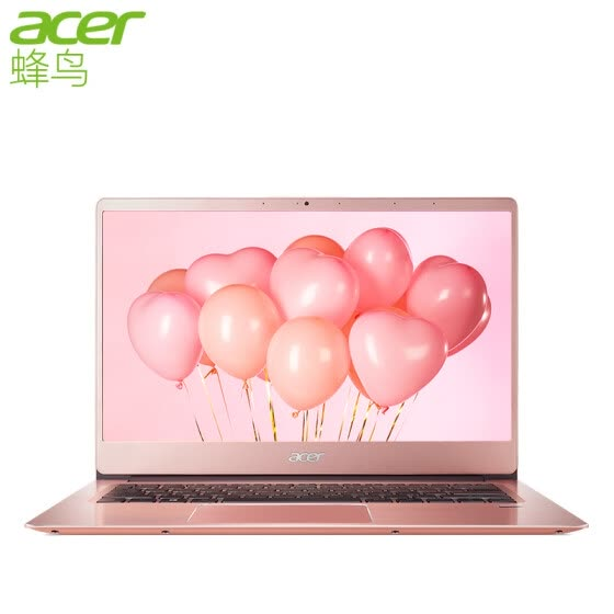 Acer Hummingbird Swift3 micro-border thin and light 14-inch all-metal notebook SF314 (i5-8250U 8G 128G SSD+1T IPS fingerprint) powder sample