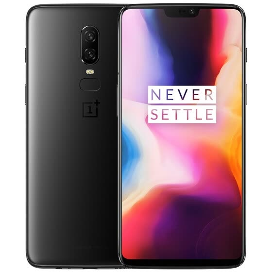 OnePlus 6 Game Phone 8GB RAM 128GB ROM Full Screen Double Shot Dual Cards Dual Standby GSM 4G Ink Black