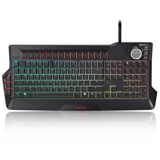 Cherry (CHERRY) MX Board 9.0 G80-3980LYBEU-2 RGB Backlit Mechanical Keyboard Black Red Axis Gaming Keyboard