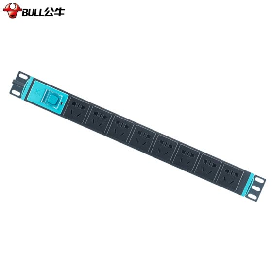 Bull BULL GNU-108D 16A High Power PDU Cabinet Sockets / Plug Plates / Plates / Pins / Pins / Terminals / Dropping Boards 8-Bit Mastery Length 1.8 m