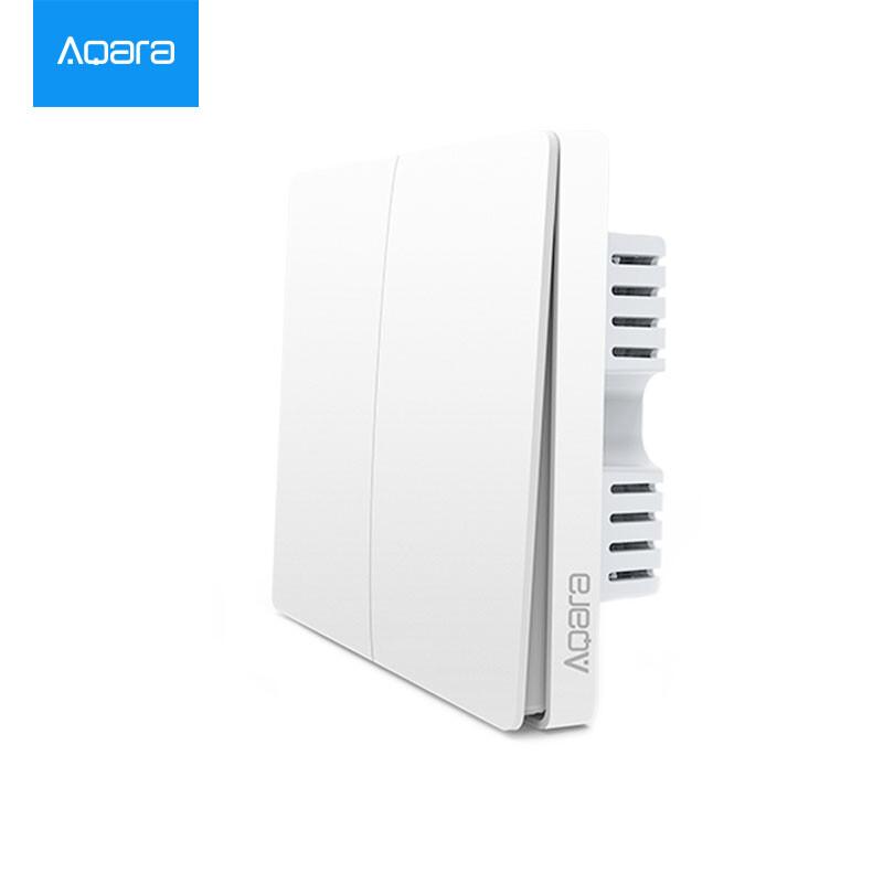 Shop Xiaomi MIJIA Aqara Smart <b>Wall Switch</b> (<b>single</b> fire double key ...