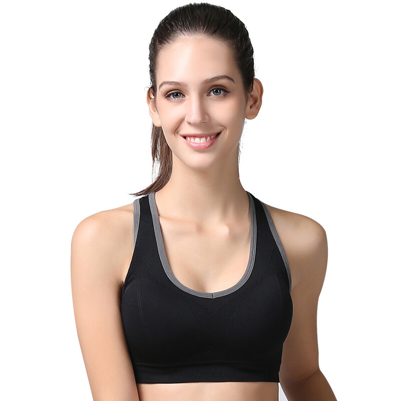 603bc70f68fa5 Shop  Jingdong supermarket  Antarctic human brains no trace to gather the word  back sports bra blue S (recommended 70A-75D) Online from Best Bras   Briefs  ...