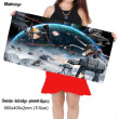 Mairuige 900*400cm Laptop Gaming Mouse Pad Locking Edge Star War Mousepad Mat for LOL Dota2 CS Mouse Mice Pad for Game Player