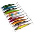 1pcs fishing lure Minnow Lure 9.5CM/8.5G fishing bait 6# high carbon steel anchor hook fishing tackle