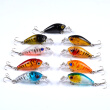 "1PCS Top Quality Fishing Lures 1.8""-4.57cm/0.142oz-4.03g fishing tackle 9color Minnow fishing bait"