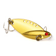 "1PC Spoon Fishing Lure 8# Silver Hook Bass Baits 3 Colors Spoon Metal Lures 5.3cm-2.09""/10.77g-0.38oz Fishing Tackle"