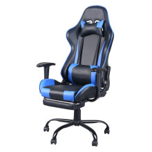Racing High Back Reclining Gaming Swivel Chair Ergonomic Computer Desk Home Office Leather Chair