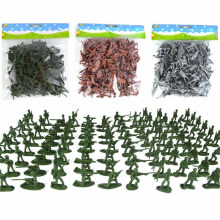 100 Pcs Mini Soldiers Model Playset Military Army Men Action Figures Toys