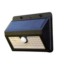 Smartbrave Solar Lights Outdoor Motion Sensor Security Deck Yard 45 LED 3 Modes Patio Lamp