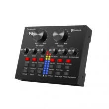 sound-cards-Noise Reduction Live Sound Card Mixer Board Voice Changer Multiple Effects on JD