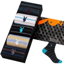 [Jingdong supermarket] Playboy (PLAYBOY) 2697 men socks men socks cotton in the tube sports business