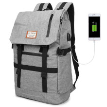 Men's roll cover backpack outdoor large-capacity travel backpacks travel hiking bags computer b