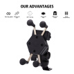 Universal Motorcycle Cell Phone Mount Holder Waterproof With Usb Charger 360¡ã Rotation Gps Phone Moun